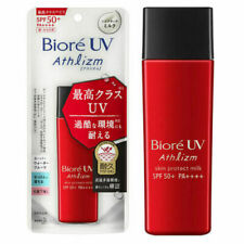 Biore UV Athlizm Skin Protection Milk SPF 50+ ~ 65ml ~ 7-14 Days Arrive !!!