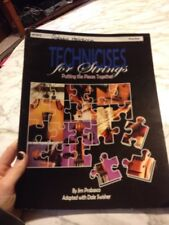 Technicises for Strings Putting pieces together String Bass Part Chorale book
