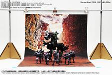 [HAKONIWAGIKEN] Diorama Sheet PRO-S Valley DSPS-HEX-002a 400x600mm