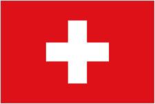 SWITZERLAND  5ft x 3ft   Flag