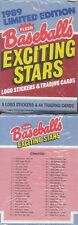 1989 Fleer Limited Edition EXCITING STARS Complete 44 Card Set Puckett Canseco++