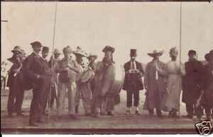 CIRCUS TROUPE~MUSICAL ROADSHOW~SIDESHOW BAND? ~ C-1915