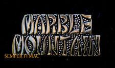 MARBLE MOUNTAIN SCRIPT HAT PIN US ARMY MARINES AIR FORCE NAVY NA NANG VIETNAM