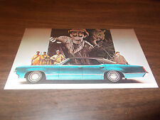 1969 Oldsmobile Delta 88 Holiday Sedan Advertising Postcard