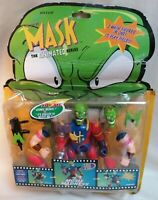 THE MASK - *Unopened* The Mask Robot Man Animated Action Figure 1997 Toy Island