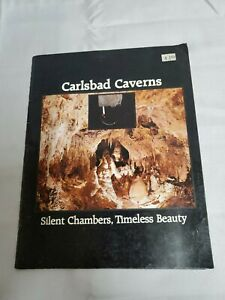 CARLSBAD CAVERNS - Silent Chambers,Timeless Beauty - Travel Guide 1980