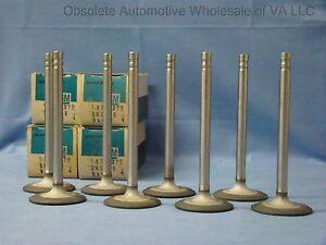 68 Pontiac Firebird Tempest 350 4 BBL Carb Intake Valve Set 8 cyl NOS GM 9794311