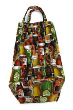 Handmade Booze Tote Bag Bring Your Own Gift Bag Tailgating House Warming Novelty