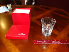""""" RARE """" Baccarat Crystal Vase, Glass,Tumbler, Candle, W/ Box, 4 3/4"" Tall"