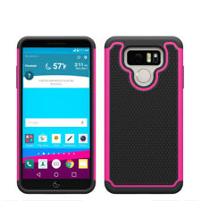 For LG Stylo 3 Plus, G5, G6 Case Hybrid ShockProof Defender Protective Cover