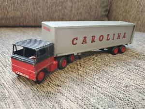 Vintage Winross Models CAROLINA Semi Truck Tractor Trailer