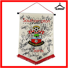 Southampton Football Pennant with Team Signatures The Saints Flag Season Unknown