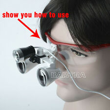 Sale 1 Pc Dental Surgical Portable LED Head Light For Dentist Loupe Red
