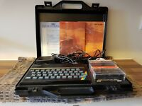 Sinclair ZX Spectrum 48K rubber key keyboard with accessories RELISTED