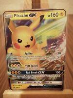 Pikachu GX Holo SM232 Ultra Rare Promo Pokemon Card * New *
