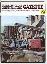 Narrow Gauge and Short Line Gazette Magazine January/February 1978 Vol 3 No 6