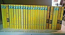 Nancy Drew book lot of 25 (1960's-2000's) HC