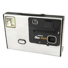 Vintage 1980s Kodak Disc 4000 Compact Point & Shoot Retro Film Camera