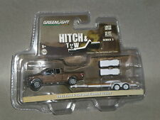 1/64th GL Hitch & Tow S5 2015 Ford F-150 & Flatbed Trailer