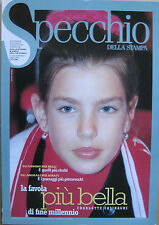 SPECCHIO 186 1999 Charlotte Casiraghi Marlon Brando Warren Beatty Tom Waits Pand