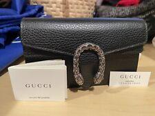 NEW Gucci Dionysus Black Leather Mini Chain Shoulder Bag -Meghan Markle's Choice