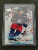 2019-20 Upper Deck Series 2  Emil Bemstrom Young Guns RC Rookie Card