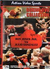 ROY JONES JNR. VS JULIO GONZALEZ BOXING DVD -COLLECTORS EDITION