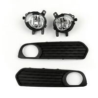 Front Fog Lamp Frame Trims Left+Right Set For BMW F20 1 Series 2012-2014 BS2 BS2