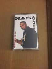 RARE! NAS 2000 NYC 90s Hip Hop Street Album Mixtape Cassette Tape