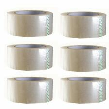 1 6 Rolls 2 X 330 2mil Or 26mil Clear Carton Sealing Packing Tape Moving Box