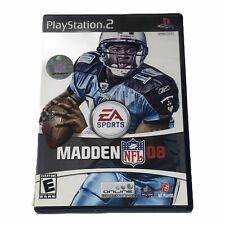 Madden NFL 08 Sony PlayStation 2 PS2 Complete w/Manual Tested Works CIB