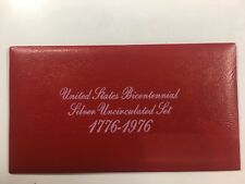Bicentennial 3 Pieces Silver Proof Set 1776-1976 S