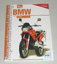 Reparaturanleitung BMW F 650, Baujahre 1993 - 2000