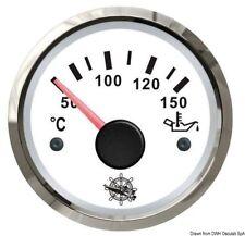 Indicatore temperatura olio 50/150° bianco/lucida | Marca Osculati | 27.322.09
