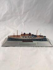 """Vintage S.S. President Cleveland Ocean Liner Ship Boat Metal Trophy Award 8.25"""""""
