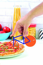 FIXIE Pizzaschneider Pizza Cutter Rennrad, orange-blau, von DOIY DESIGN