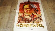 LE CERCLE DE FER ! histoire de bruce lee  affiche cinema karate kung-fu 1978