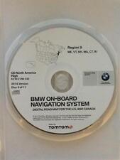 01 02 BMW X5 M3 M5 Z8 325i 330i NAVIGATION MAP DISC 2014 CD 9 ME VT NH MA CT RI