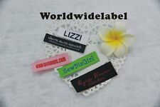 300 personalized letter design clothing labels professional woven label U.S ship