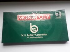 Monopoly W.R. Berkley Corporation 40th Anniversary Edition New Collectable