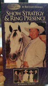 VHS Show Strategy & Ring Presence Richard Shrake A Winning Way