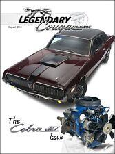 Legendary Cougar Magazine Cobra Jet 1968 Cougar 1969 Xr7 1971 Cougar Cj 429