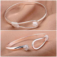 Unbranded Silver Plated Cuff Costume Bracelets without Stone