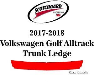 3M Scotchgard Paint Protection Film Pre-Cut 2017 2018 Volkswagen Golf Alltrack