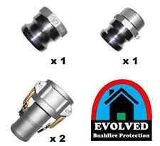 1 1/2 inch 40mm Aluminium camlock fire pump tank suction hose fittings
