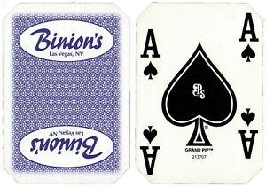 Wide Selection Authentic Las Vegas Casino Table-Played Playing Cards