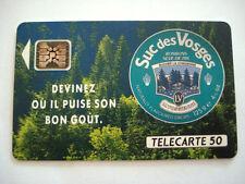 PHONECARD TELECARTE CANDY SUGAR SUCRE DES VOSGES CONFISERIE FRANCE