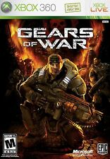 XBOX 360 Gears of War Video Game Multiplayer Online Shooter Warfare DISC ONLY