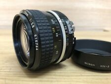 *Opt Mint w/ HN-3 Hood* Nikon Ai Nikkor 28mm f/2.8 Wide Angle MF Lens from Japan