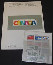 Annual Souvenir Collection Postage Stamps of Canada Album 1979 #22 MNH Complete